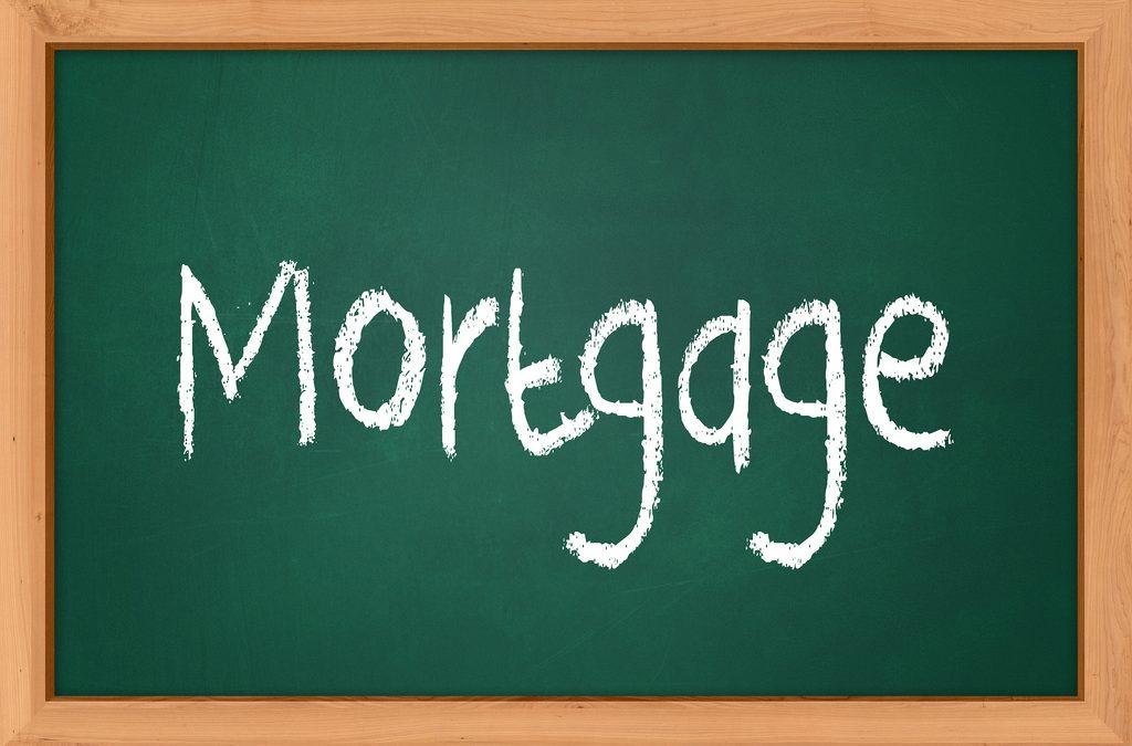 mortgage chalk board